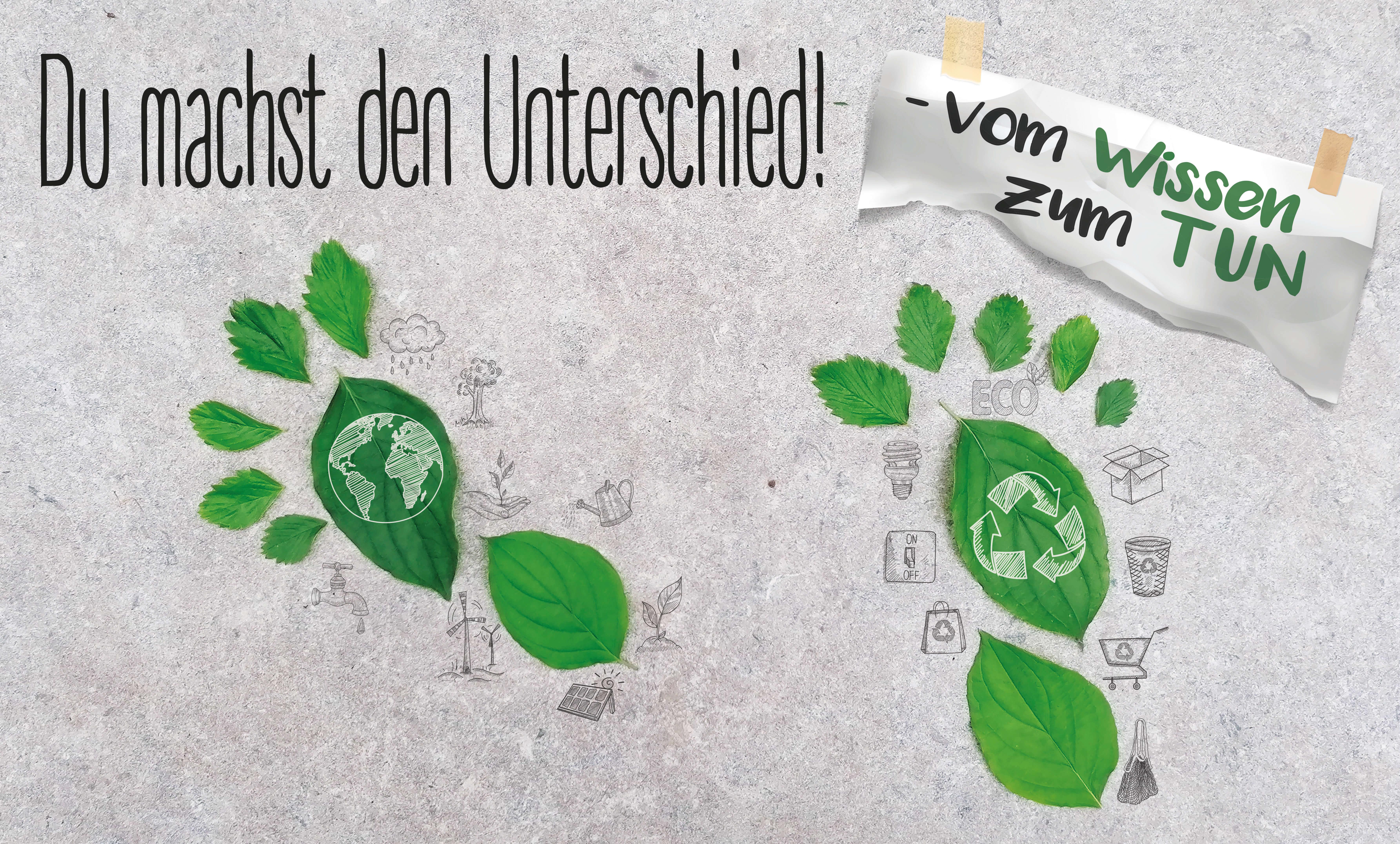 """Platz 1: """"Unser Fußabdruck"""" Nicole Ewald (Waldbrunn)"""